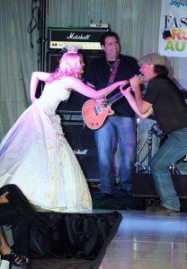 Rachel and ACDC band